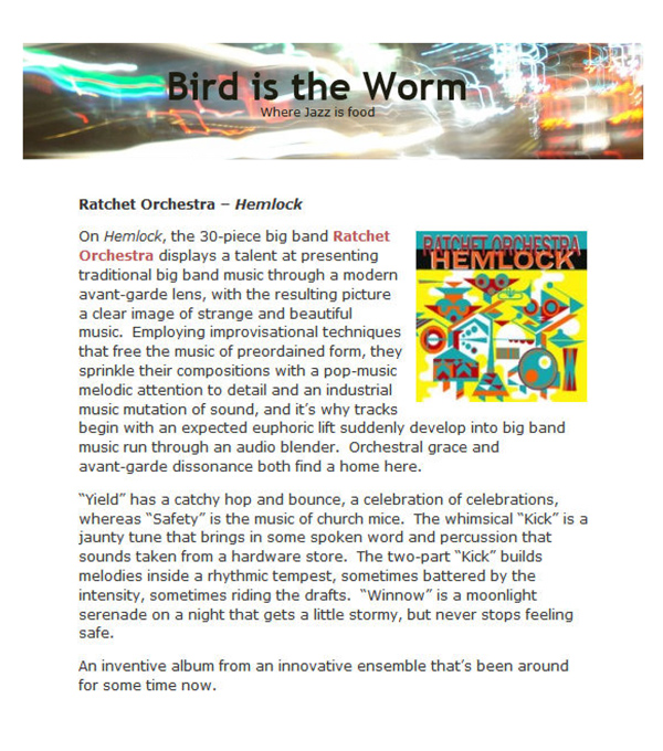 Ratchet Bird is the worm review